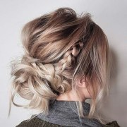 casual updo hairstyles long