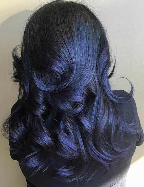 87 Great Blue Black Hair Ideas For You