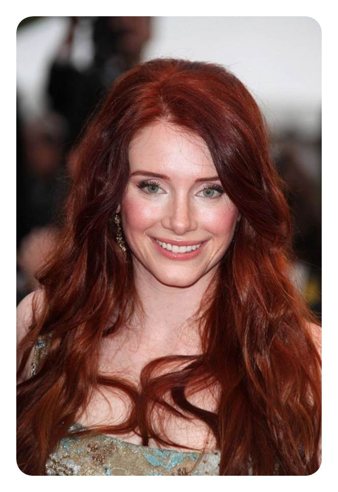 81 red hair with