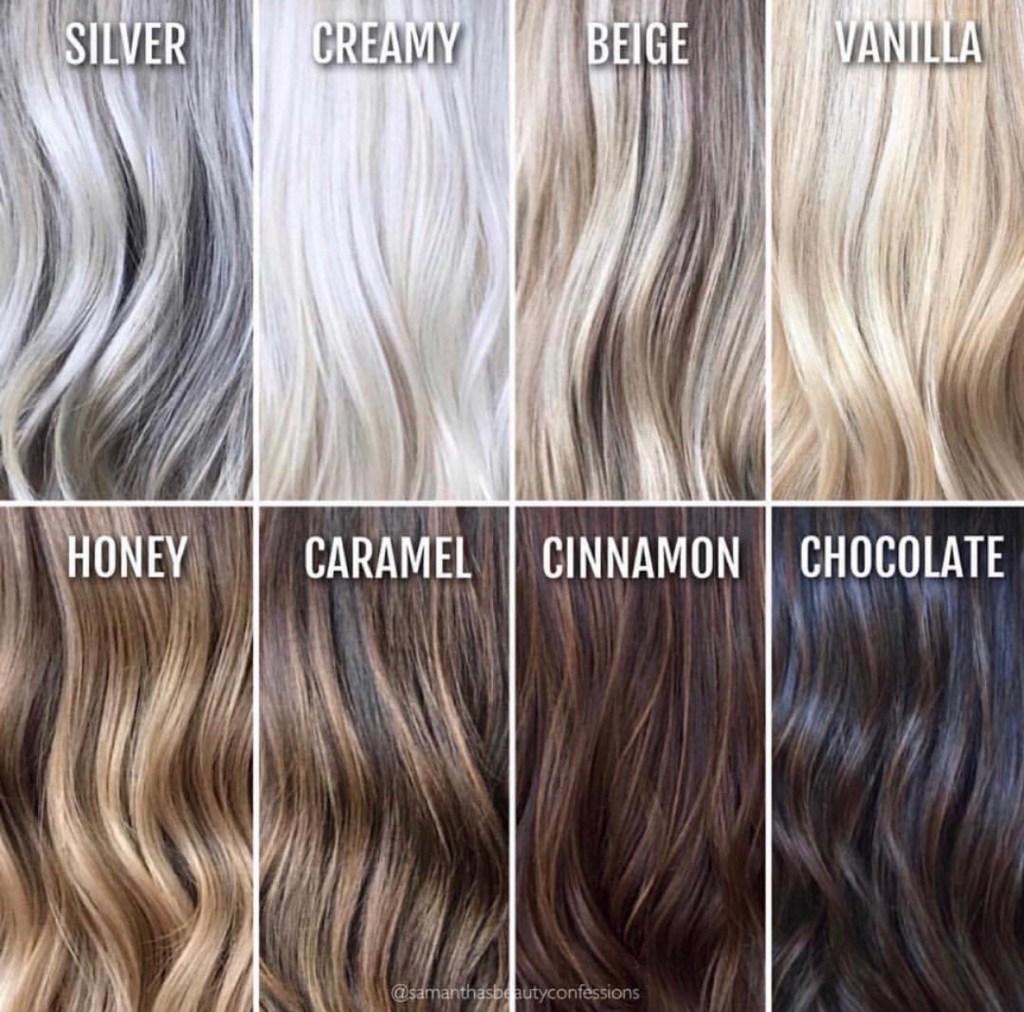 grå hårfärg på brunt hår