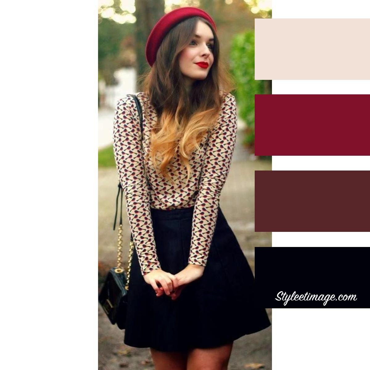 vif et grand en style nouveau sommet style de mode Vêtements: 15 idées pour associer les couleurs de vos ...