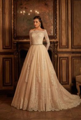 20+Collection of The Most Popular Wedding Dresses at The Moment Ideas 11