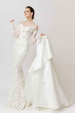 20+Collection of The Most Popular Wedding Dresses at The Moment Ideas 18