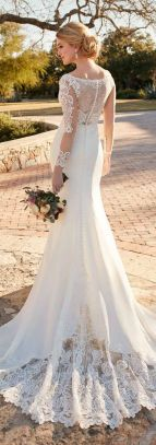 20+Collection of The Most Popular Wedding Dresses at The Moment Ideas 22
