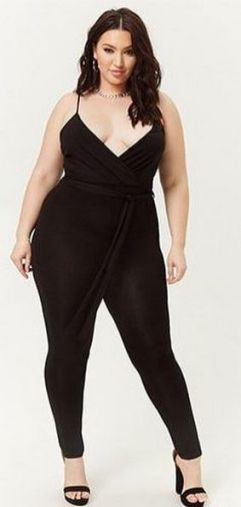 30 Fashion plus size outfit with black pants 25