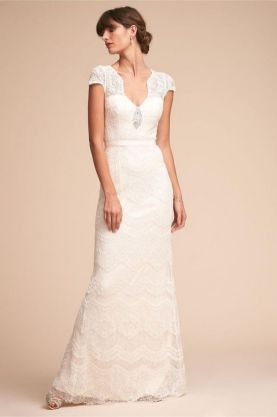 40 Beautiful wedding dresses for 40 year old brides ideas 1