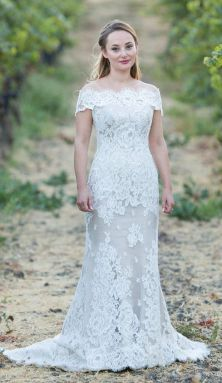 40 Beautiful wedding dresses for 40 year old brides ideas 19