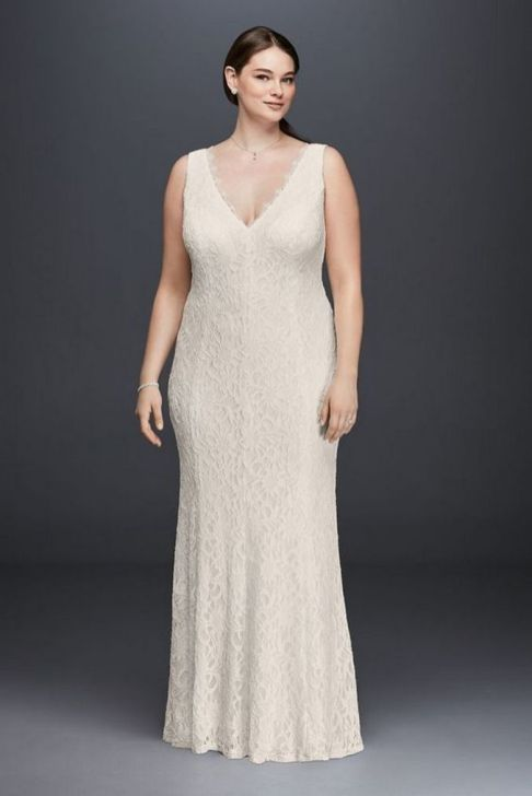 40 Beautiful wedding dresses for 40 year old brides ideas 38