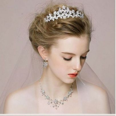 50Best wedding hair accessories ideas 31