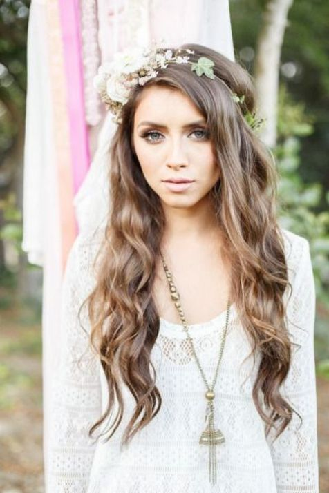 60+Bridal Flower Crowns Perfect for Your Wedding Ideas 25