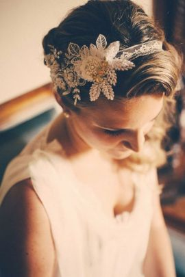 70+ Best Wedding lace headpiece Ideas 1