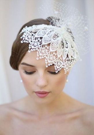 70+ Best Wedding lace headpiece Ideas 2