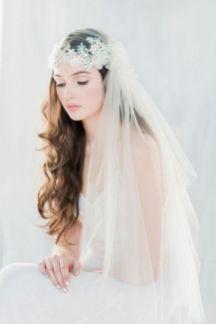 70+ Best Wedding lace headpiece Ideas 24