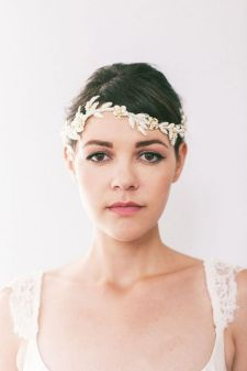 70+ Best Wedding lace headpiece Ideas 34