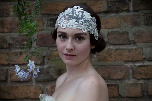 70+ Best Wedding lace headpiece Ideas 35