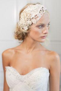 70+ Best Wedding lace headpiece Ideas 36