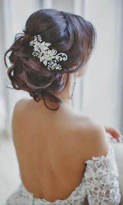 70+ Best Wedding lace headpiece Ideas 39