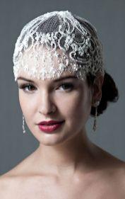 70+ Best Wedding lace headpiece Ideas 54