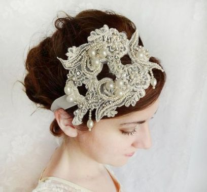 70+ Best Wedding lace headpiece Ideas 63
