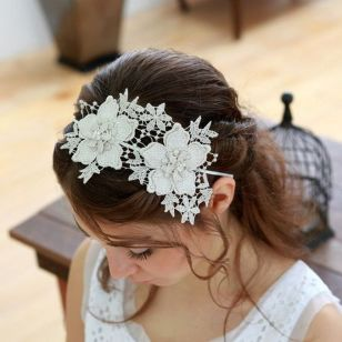 70+ Best Wedding lace headpiece Ideas 68