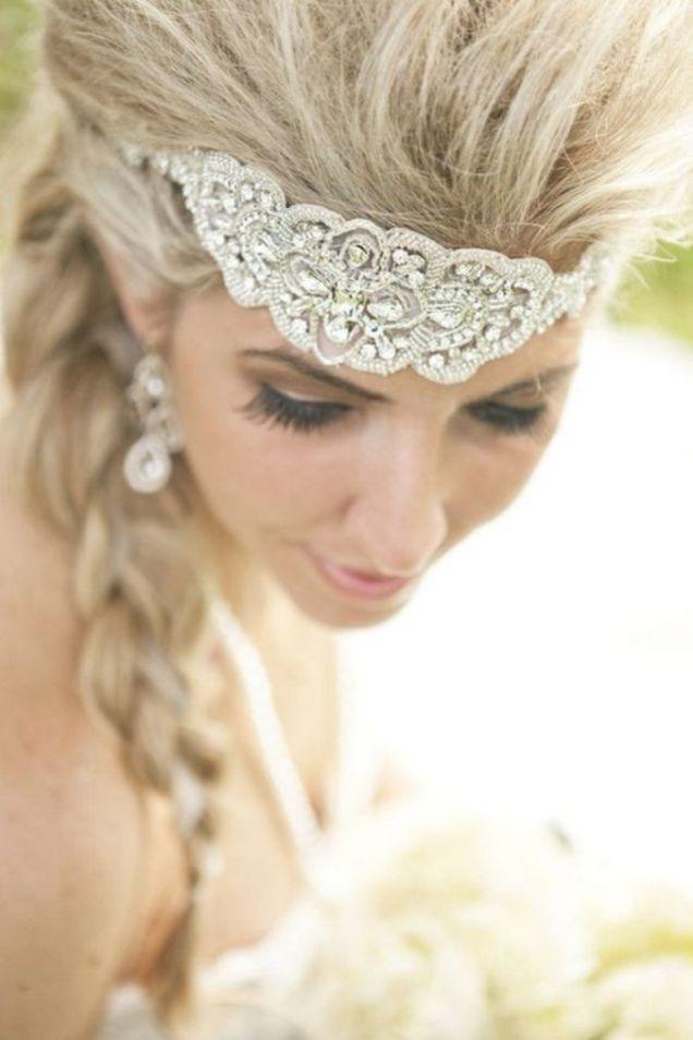 70+ Best Wedding lace headpiece Ideas 69