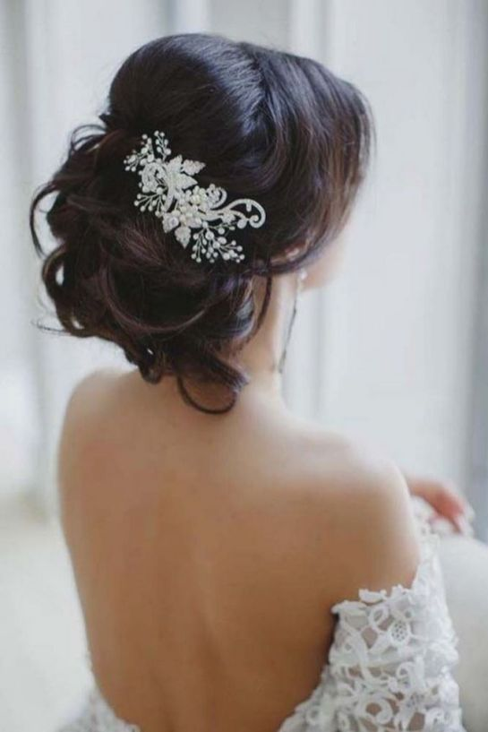 70+ Best Wedding lace headpiece Ideas 7