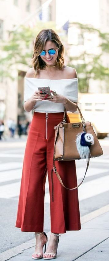 Beautiful Square Pants Outfit Ideas 4