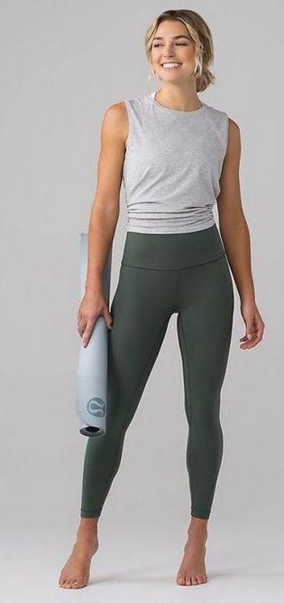 Beautiful yoga pants outfit ideas 1