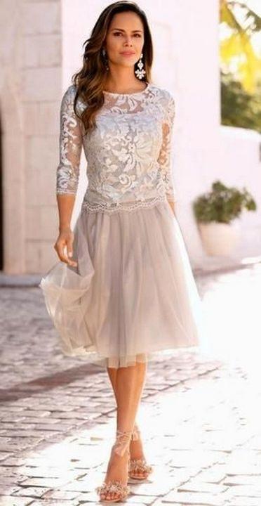 Best wedding dresses for mom of bride idea 19