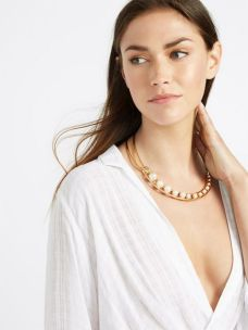 Great Pearl Necklace Outfit Ideas 70+ 73