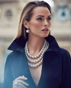 Great Pearl Necklace Outfit Ideas 70+ 8
