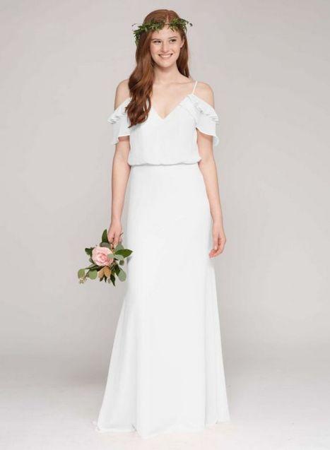 Top wedding dresses high street 13 1
