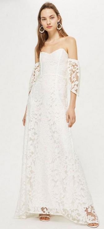 Top wedding dresses high street 51