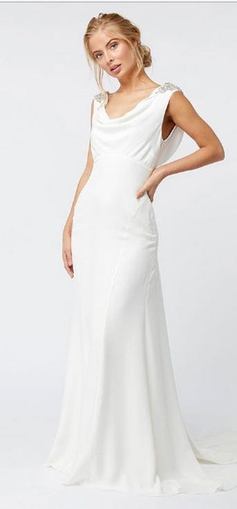 Top wedding dresses high street 52