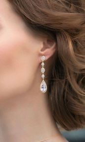 elegant dangle earrings 1