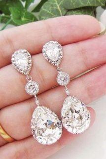 elegant dangle earrings 2