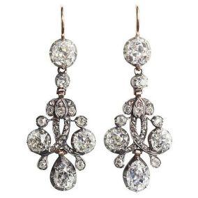 elegant dangle earrings 22