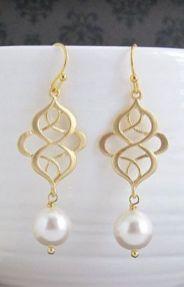 elegant dangle earrings 36