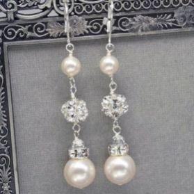 elegant dangle earrings 57