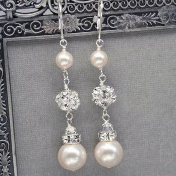 elegant dangle earrings 57