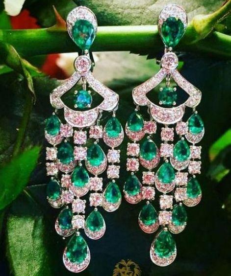 elegant dangle earrings 61