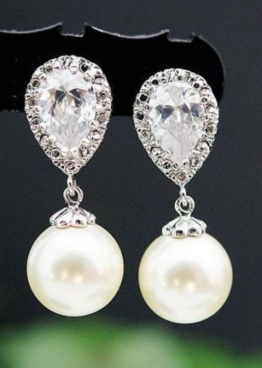 elegant dangle earrings 62