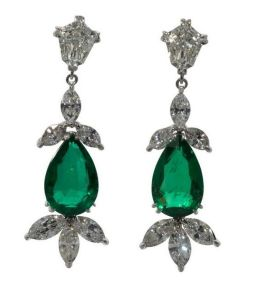 elegant dangle earrings 64