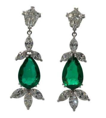 elegant dangle earrings 64