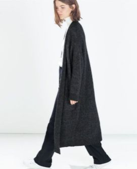 17 extra long black cardigan ideas 10