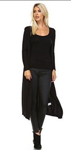 17 extra long black cardigan ideas 2