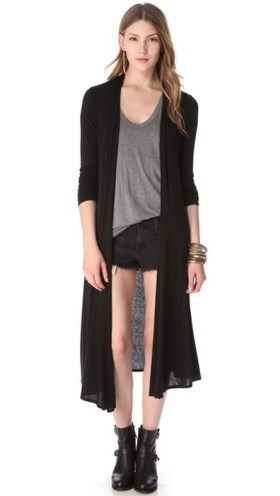 17 extra long black cardigan ideas 4