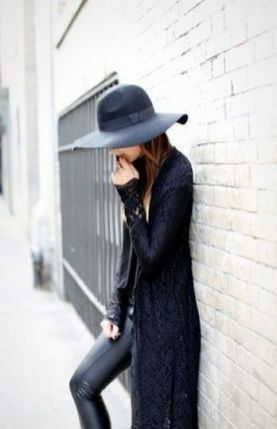 17 extra long black cardigan ideas 7