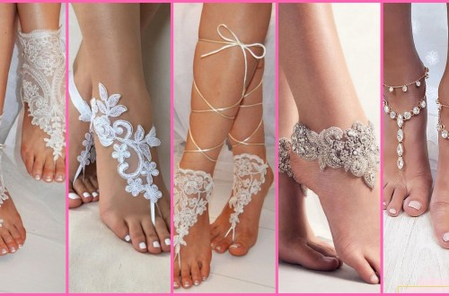 20 Beach Wedding Shoes and Sandals ideas