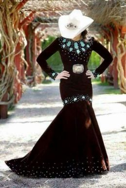 20 Best country western dresses for weddings 1